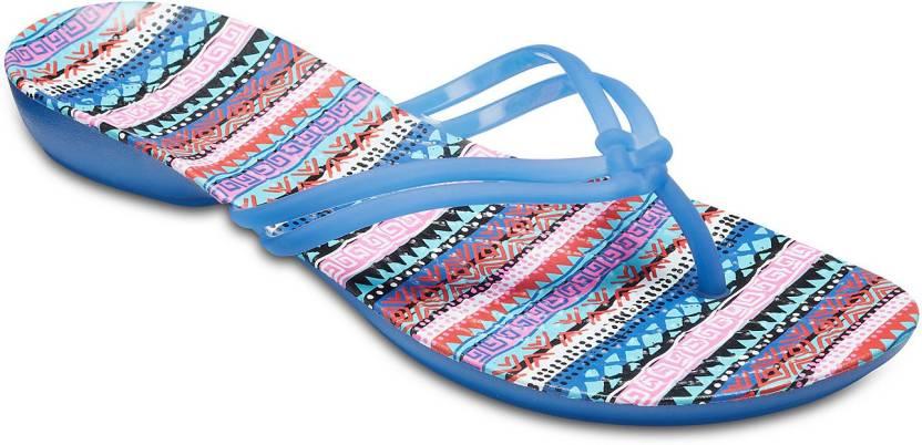 d77f40ea Crocs Crocs Isabella Graphic Flip W Flip Flops - Buy Crocs Crocs Isabella  Graphic Flip W Flip Flops Online at Best Price - Shop Online for Footwears  in ...