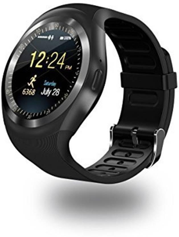 7be86ac8c09 AmidebyAD Bluetooth Smartwatch Black Smartwatch Price in India - Buy ...