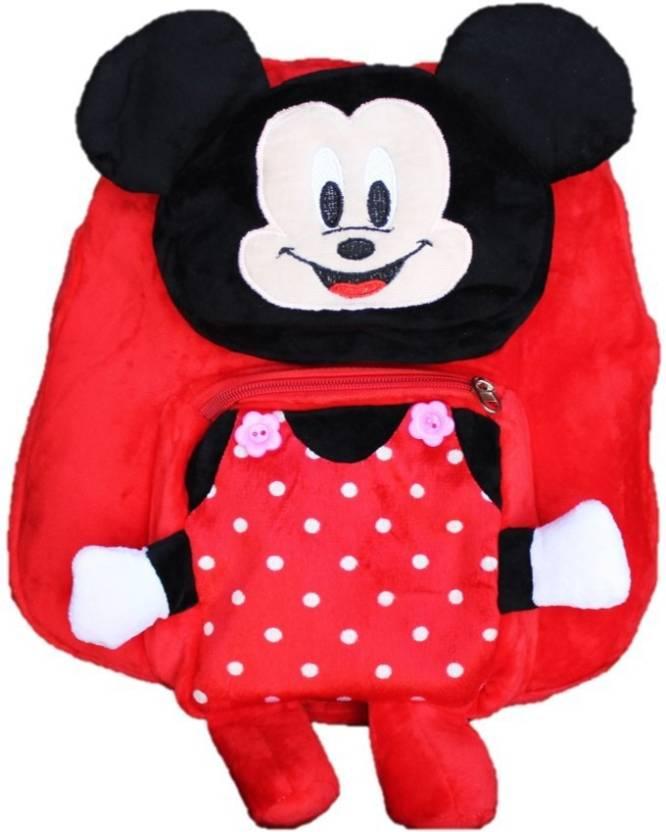 ToyJoy Cartoon Soft School Bag For 2 To 5 Yr Kids Boys Girls Birthday Gift Children