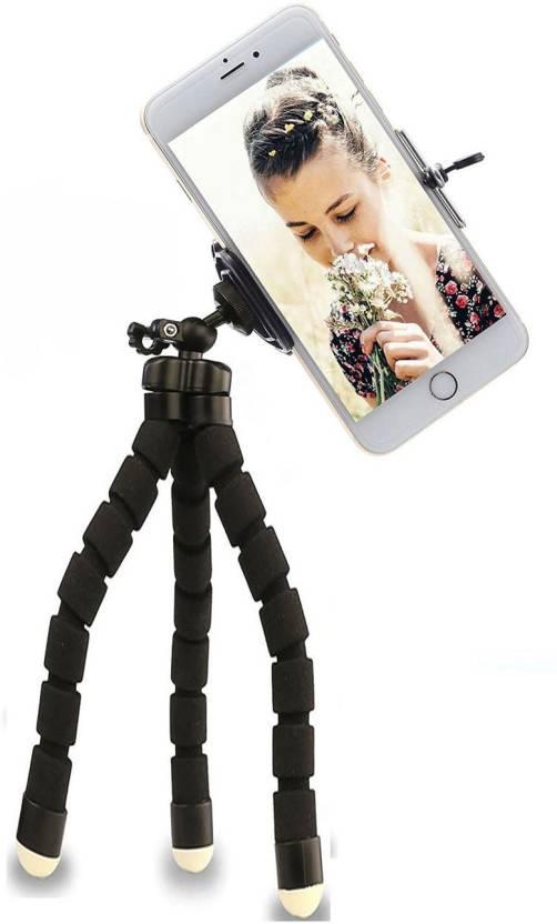 3aab9647165954 CASADOMANI Sponge Flexible Mini Tripod Camera Travel Tripod with 360  Rotatable mobile holder mount Phone Holder Selfie stick Gorillapod Universal  Tripods ...