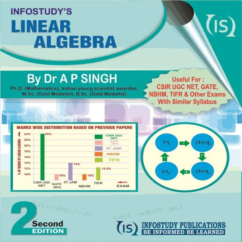 LINEAR ALGEBRA: Buy LINEAR ALGEBRA by Dr  A P  Singh at Low