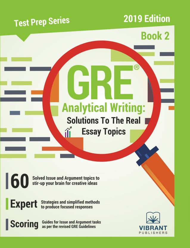 gre analytical writing solutions to the real essay topics   book   gre analytical writing solutions to the real essay topics   book   english paperback vibrant publishers