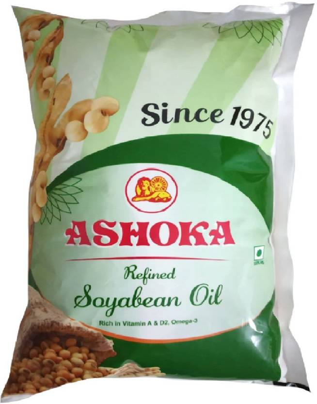 Ashoka Refined Soyabean Soyabean Oil 1 L Pouch Price in