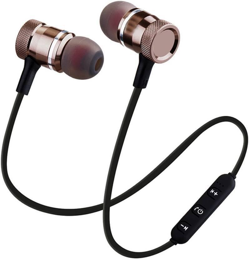 95ba24aed4d Webilla Magnet Earphone 2018 New Wireless Metal Sport bluetooth earphone  Magnet stereo earbuds with mic light weight headphones wireless/bluetooth  neck band ...