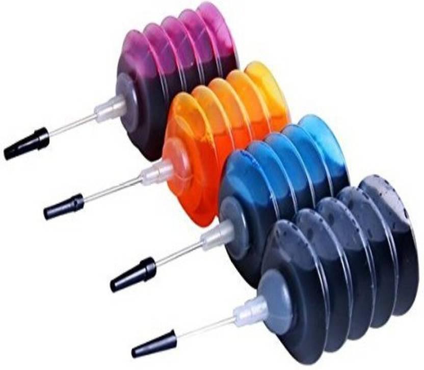 Printwell Ink Refill Kit For HP 46 Black & 46 TriColor Ink Cartridge Multi Color Ink Multi Color Ink Cartridge (Black, Magenta, Cyan, Yellow)