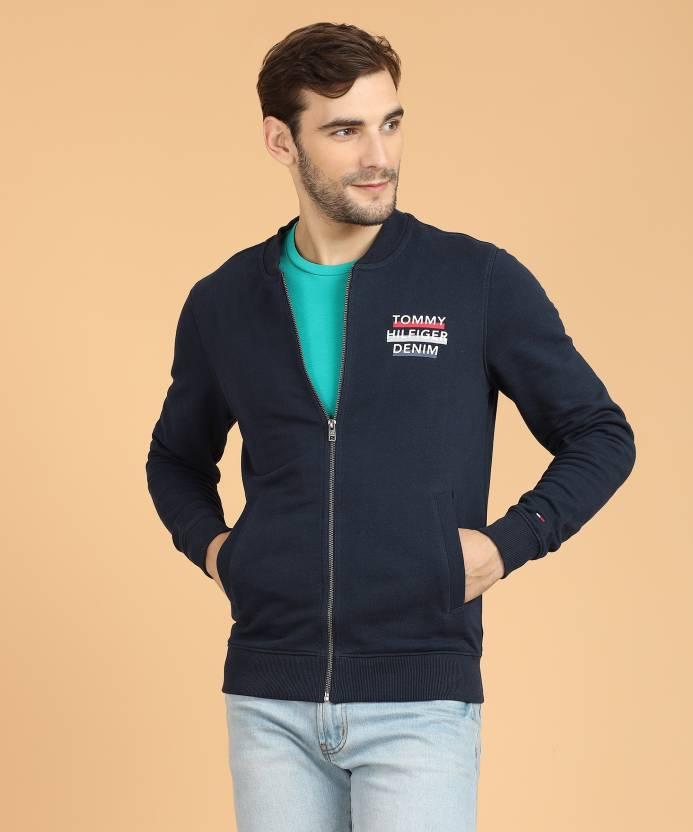 48105d70 Tommy Hilfiger Full Sleeve Solid Men's Sweatshirt - Buy Blue Tommy ...