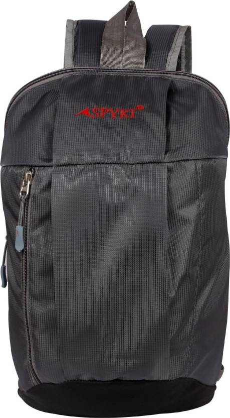 aec82b98ae35 Spyki Picnic College School Tuition Outdoor Travel Small Bag Waterproof  Backpack (Grey