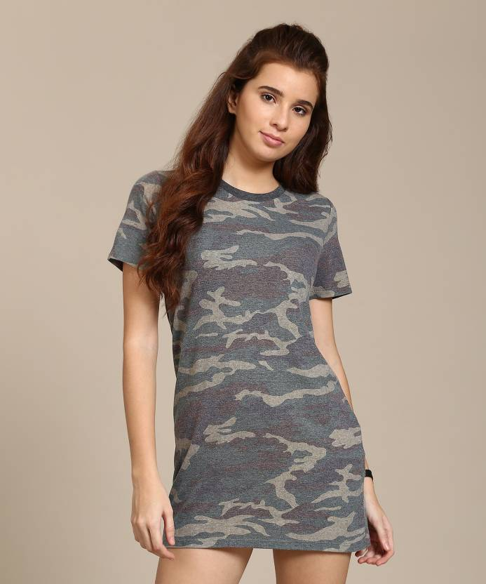 73494c7933f1 Forever 21 Women's T Shirt Multicolor Dress - Buy OLIVE/BLACK/MULTI Forever  21 Women's T Shirt Multicolor Dress Online at Best Prices in India |  Flipkart. ...