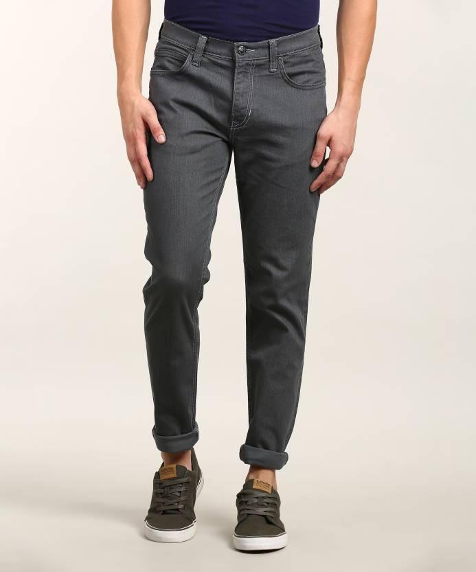 f4baa2b7 Lee Skinny Men Grey Jeans - Buy Lee Skinny Men Grey Jeans Online at Best  Prices in India   Flipkart.com