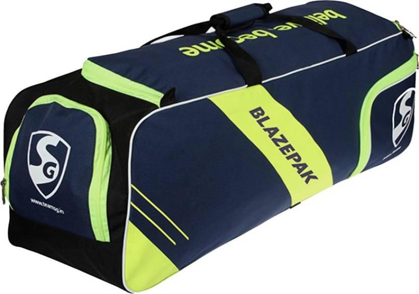 fcbd05130afd SG Blazepak Cricket Kit Bag with additional Shoe Compartment Kit Bag (Blue
