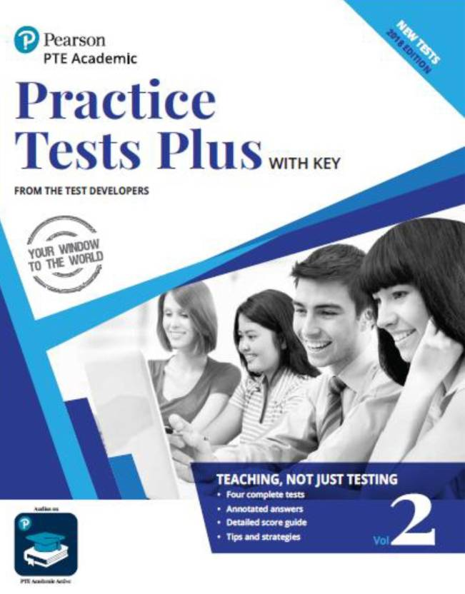 Practice Test Plus of Pearson Test of English Academic Vol 2: Buy