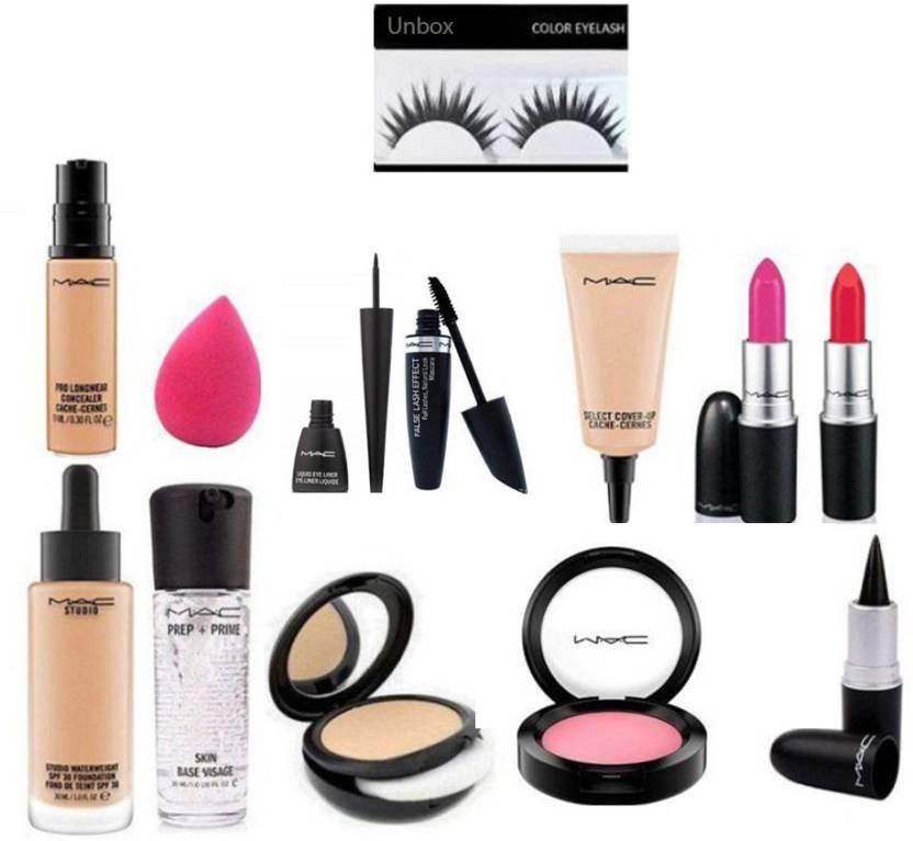 Mac Makeup Kit With Lipstick