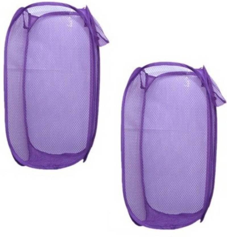 Shreejee 20 L Purple Laundry Bag Nylon