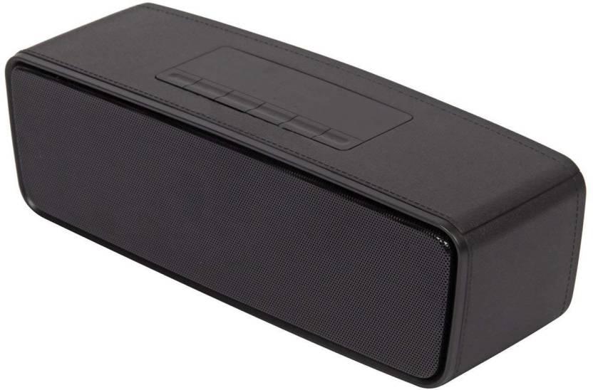 AMBLINK S2025 10 W Bluetooth Speaker Black, Stereo Channel