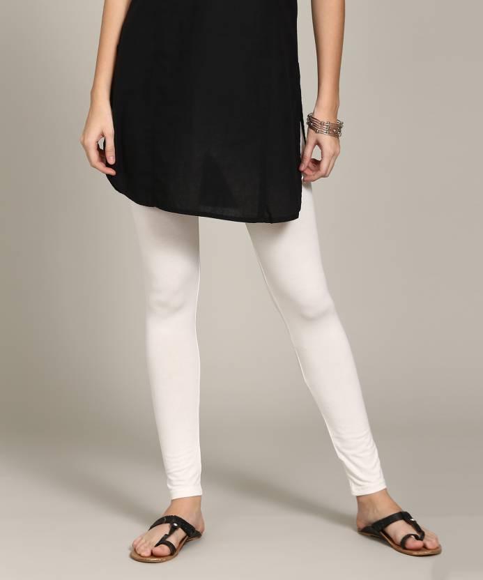 b6bbce9f04e9d Global Desi Women White Leggings - Buy Global Desi Women White Leggings  Online at Best Prices in India | Flipkart.com