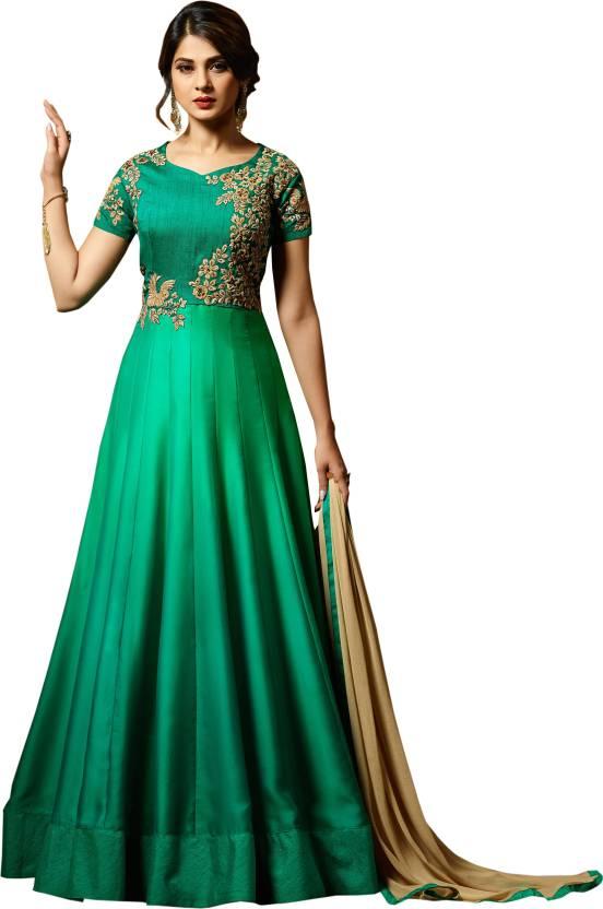 b6c8017bab Ethnic Yard Anarkali Gown Price in India - Buy Ethnic Yard Anarkali ...