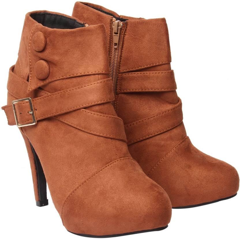 4ee29133bd Klaur Melbourne Boots For Women - Buy Brown Color Klaur Melbourne ...
