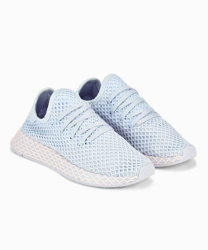 fc7be56d2962e ADIDAS ORIGINALS AERBLU/AERBLU/CLEORA Training & Gym Shoes For Women ...