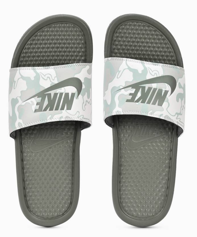 e04d6b5a79b3 Nike BENASSI JDI PRINT Slippers - Buy Nike BENASSI JDI PRINT Slippers  Online at Best Price - Shop Online for Footwears in India