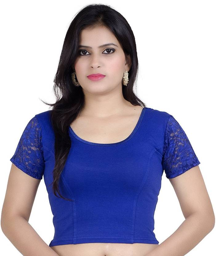 8813d25873fa46 SUVASANA U-Neck Women's Stitched Blouse - Buy SUVASANA U-Neck Women's  Stitched Blouse Online at Best Prices in India | Flipkart.com