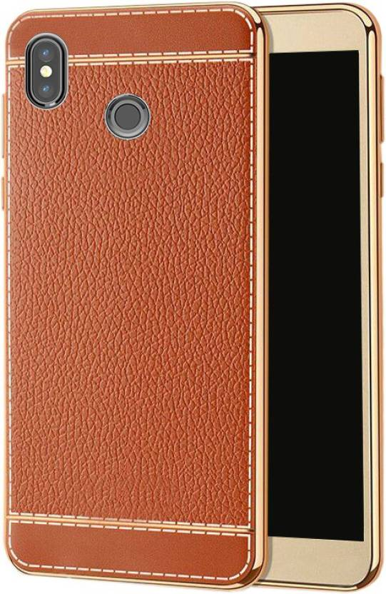 Excelsior Back Cover for Mi A2 Brown, Silicon