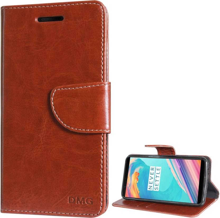 buy online d740e fdd9f DMG Wallet Case Cover for OnePlus 5T - DMG : Flipkart.com