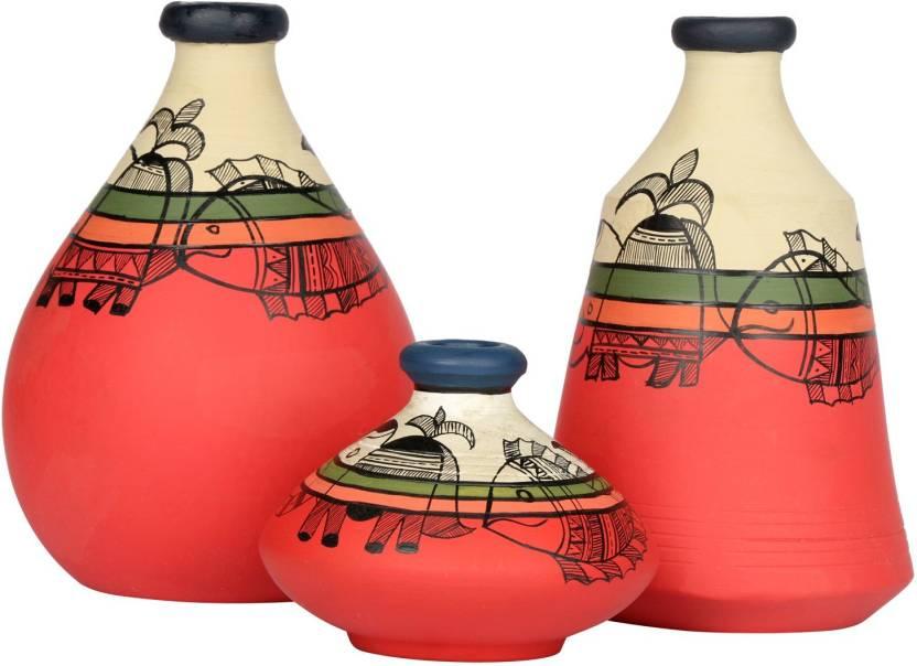 Artysta Home Decor Vases 006 Terracotta Vase Price In India Buy