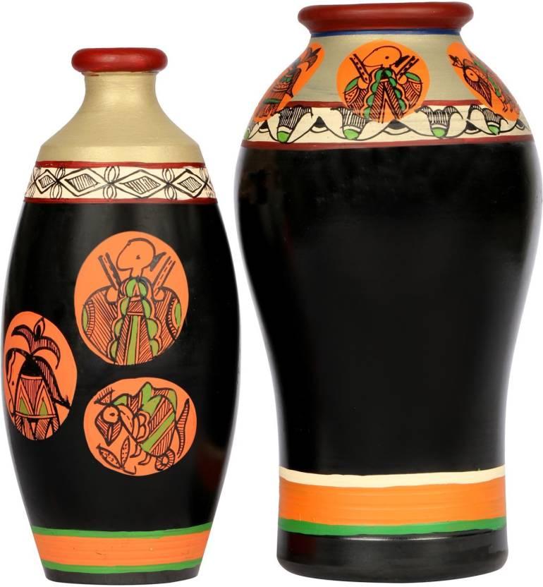 Artysta Home Decor Vases 001 Terracotta Vase Price In India