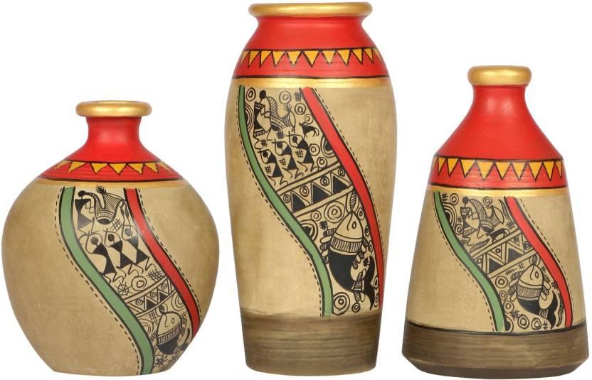 Artysta Home Decor Vases 008 Terracotta Vase Price In India Buy