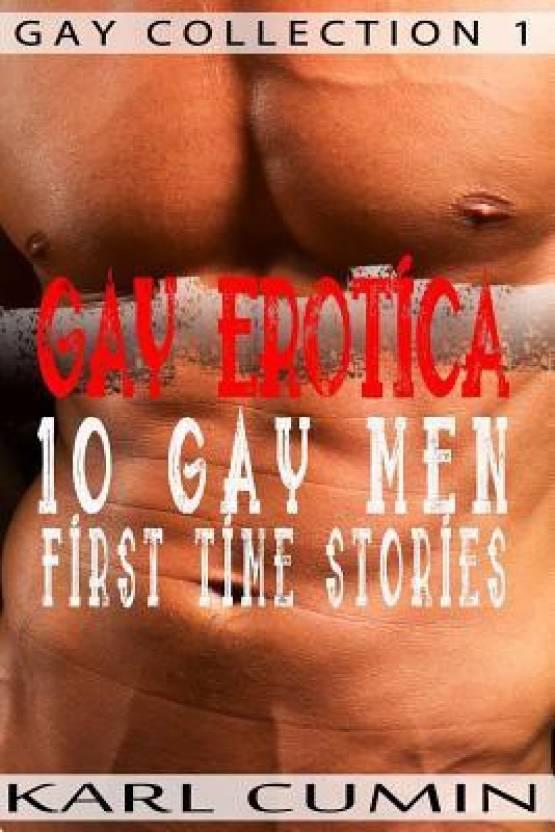 Gay Erotica - 10 Gay Men First Time Stories (English, Paperback, Karl Cumin)