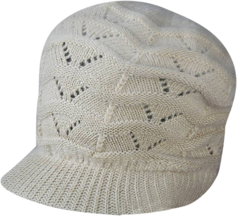 70485452c0c ZACHARIAS Self Design Woolen Cap Cap - Buy ZACHARIAS Self Design Woolen Cap  Cap Online at Best Prices in India