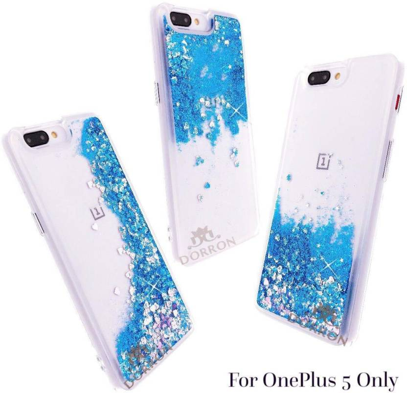 new style fb54e 934f7 DORRON Back Cover for OnePlus 5 / 1+5 Glitter Stylish Designer ...
