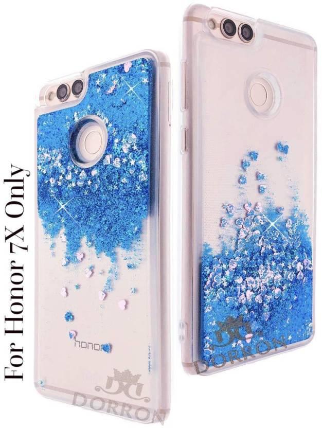reputable site e13aa 0ff44 DORRON Back Cover for Huawei Honor 7X Glitter Stylish Designer ...