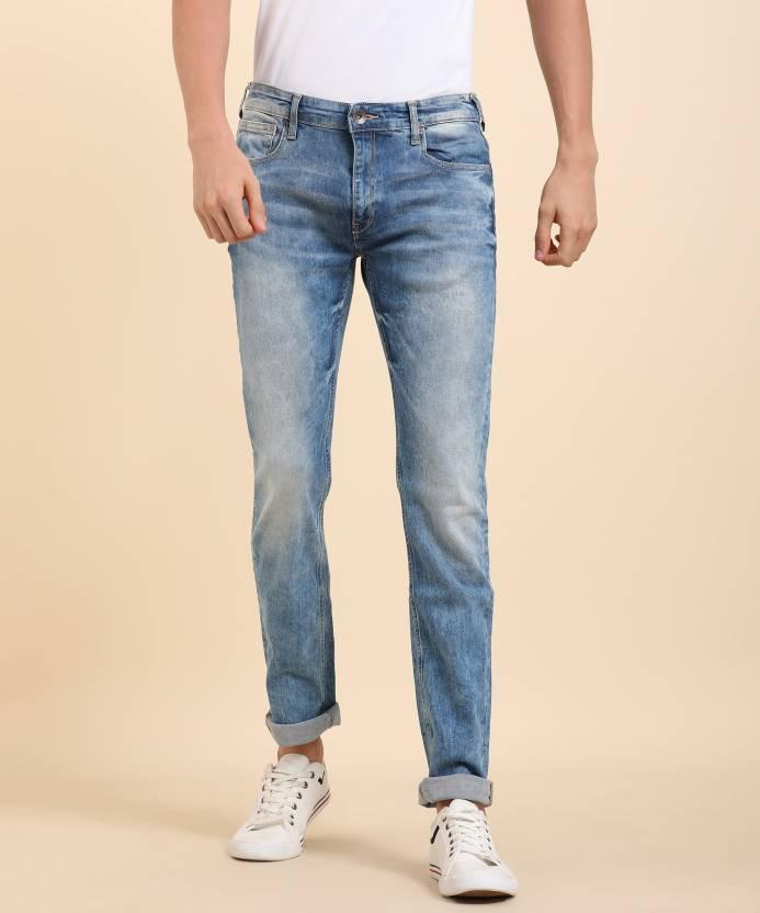 purchase cheap 74450 7cfce Pepe Jeans Slim Men's Blue Jeans
