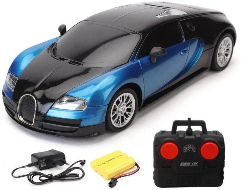 Ar Enterprises Blue Rc Bugatti Veyron 1 16 Rechargeable Toy Car
