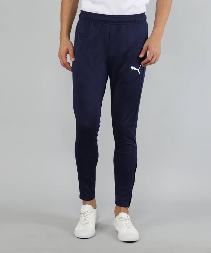 c36d50d32934 Puma Solid Men Blue Track Pants - Buy Puma Solid Men Blue Track Pants  Online at Best Prices in India