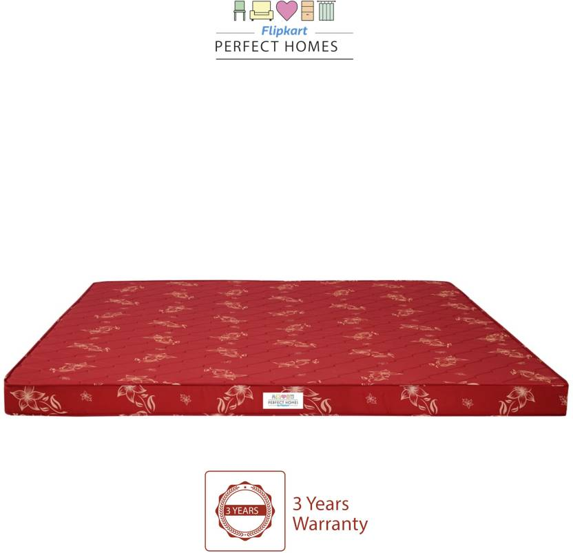 Flipkart Perfect Homes Rhea 4 Inch Queen Pu Foam Mattress Price In