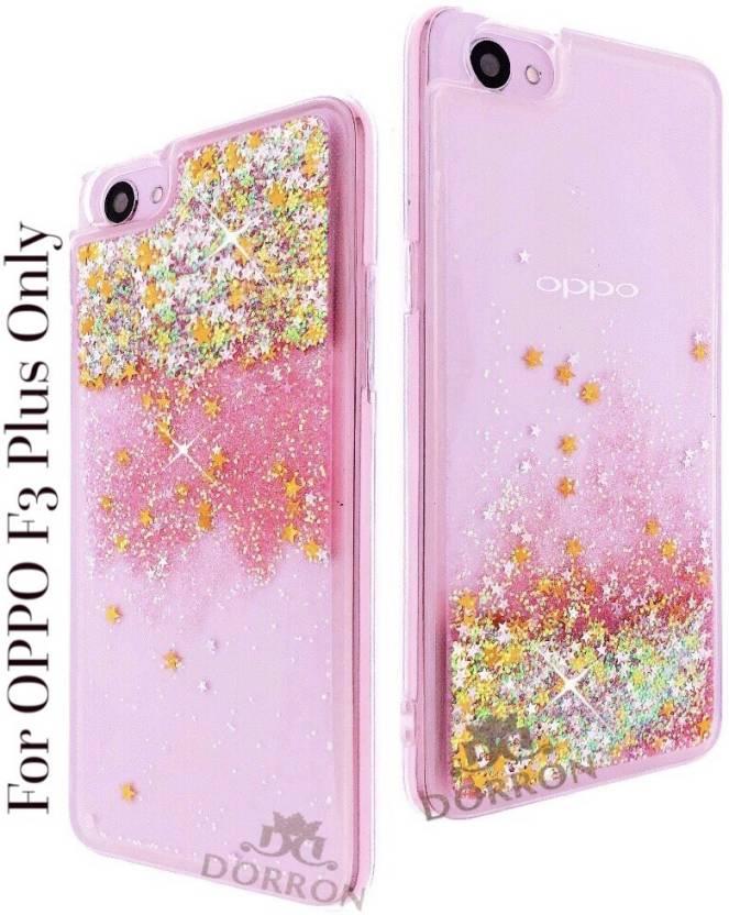 best service c40a9 21806 DORRON Back Cover for OPPO F3 Plus Glitter Bling Stylish Designer ...
