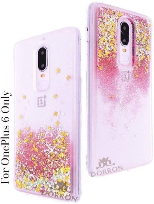 finest selection 39bb6 5269a DORRON Back Cover for OnePlus 6 / 1+6 Glitter Bling Stylish Designer ...