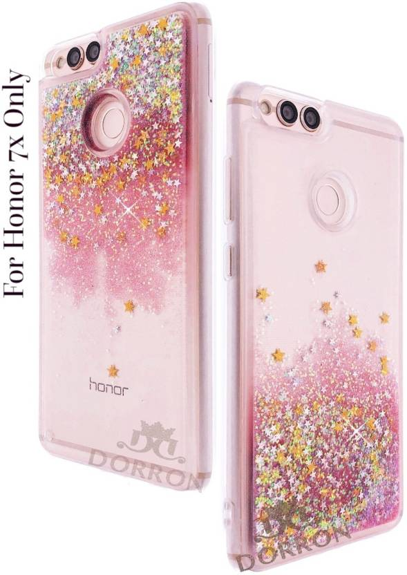competitive price 29dfd b5ff6 DORRON Back Cover for Huawei Honor 7X Glitter Bling Stylish Designer ...