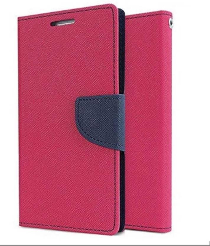 finest selection ddb11 64dc7 Shopsji Flip Cover for Original Pink Mercury Flip Cover, Wallet Case ...