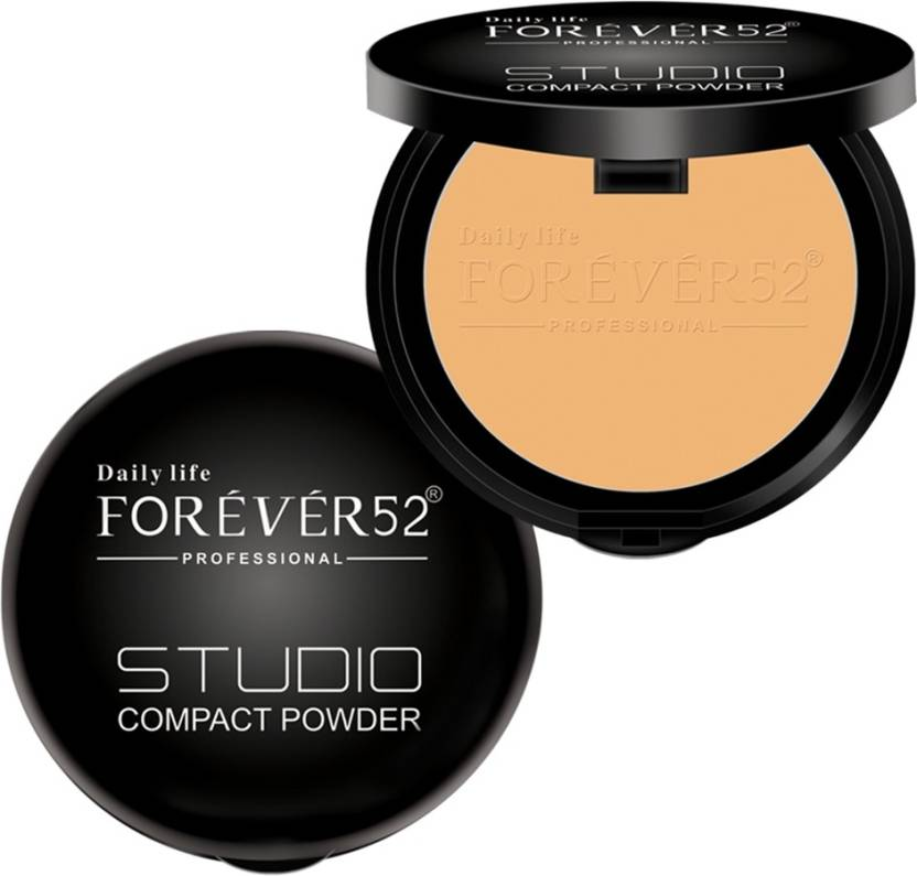 Forever 52 Professional Two Way Cake 15g Compact (Black)