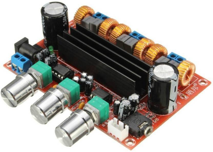 TECHNOLOGYBAZAR TPA3116D2 50Wx2+100W 2 1 Amplifier Board 12V-24V Power  Interconnect Electronic Hobby Kit