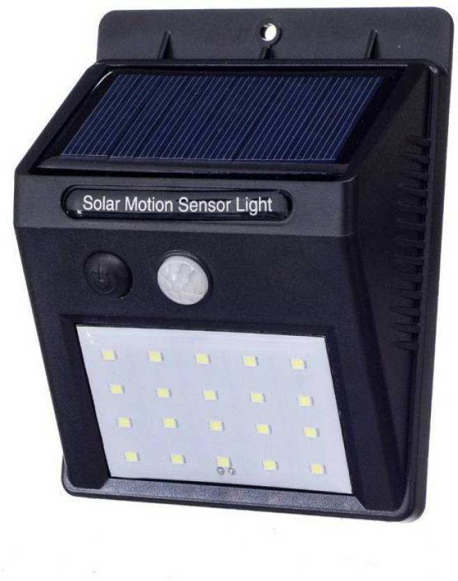 Callie Solar Powered Led Wall Light Xf 6009 20 Led Motion