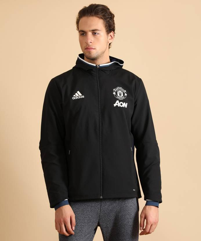 8e7183480ea ADIDAS Manchester United Solid Men s Track Suit - Buy BLACK CONAVY CWHITE ADIDAS  Manchester United Solid Men s Track Suit Online at Best Prices in India ...