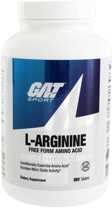 GAT L - Arginine 180 Tablets Price in India - Buy GAT L - Arginine ... 98cd0d6031b9