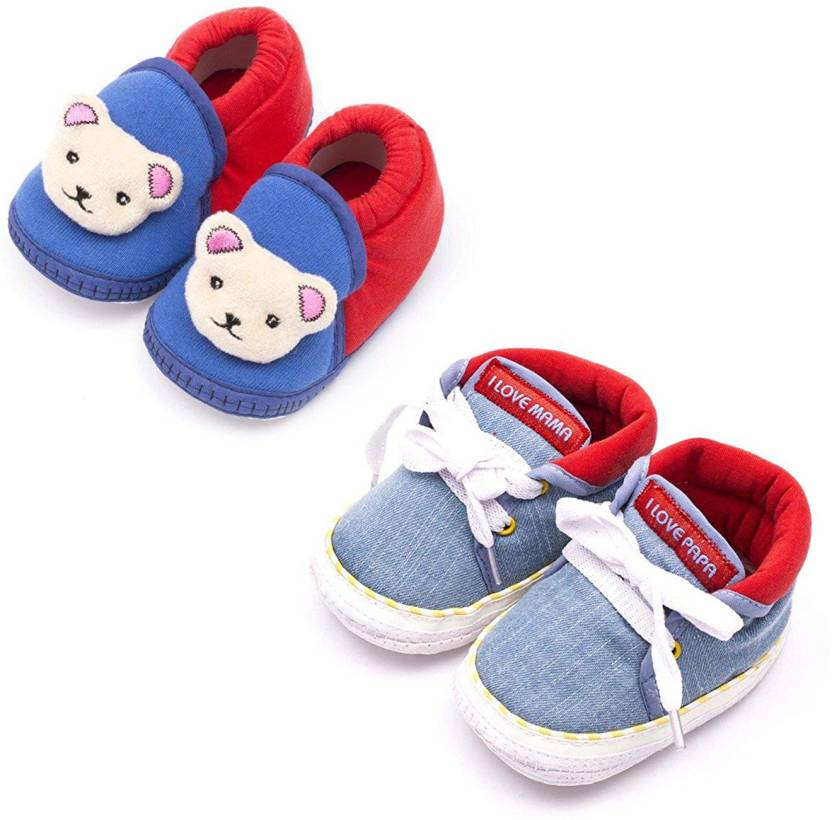 fbeaa961673c Infano Baby Shoes Combo Booties (Toe to Heel Length - 11 cm Multicolor)