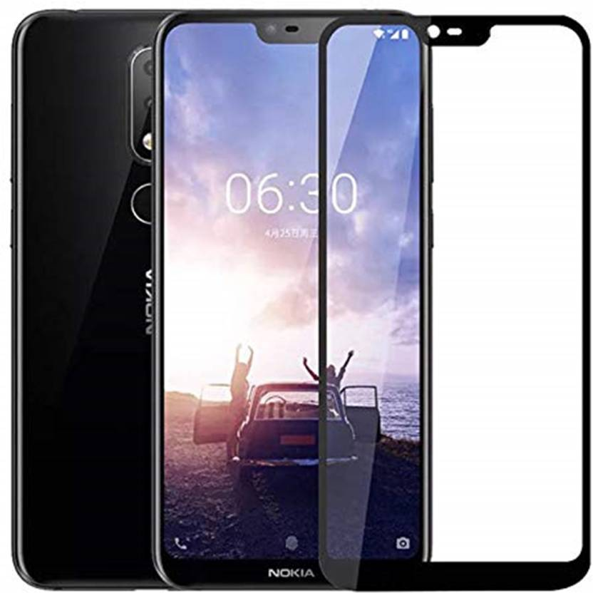 online store e8949 55515 Tarkan Back Cover for Nokia 6.1 Plus Case Shock Proof Protective Soft  Transparent Tempered Glass For Nokia 6 Plus