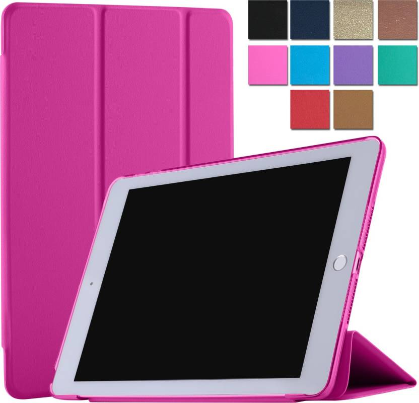 DuraSafe Cases Flip Cover for Apple iPad Air 2nd Gen   9.7\ Pink, Shock Proof