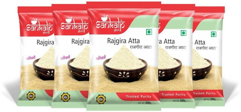 sankalpshri Rajgira Atta (Pack of 5) Price in India - Buy ...